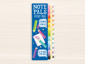 Pencil Note Pals Sticky Tabs