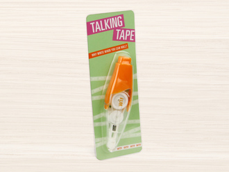 WTF Talking Tape