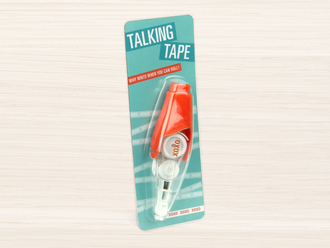 XOXO Talking Tape