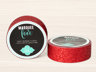 Red Glitter Washi Tape