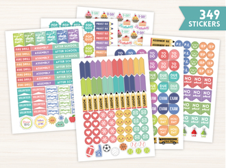 Teacher Planner Sticker Set