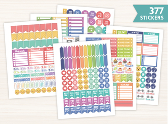 Planner Sticker Set