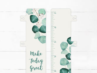 Silver Dollar Leaves Snap-in Bookmark