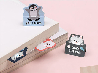 Cartoon Animal Magnetic Bookmark