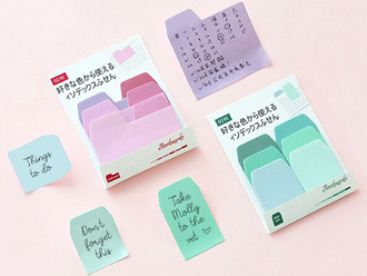 Color Tab Sticky Notes