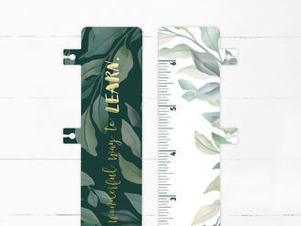 Tropical Teacher Snap-in Bookmark