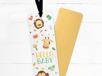 Safari Animals Ribbon Bookmark