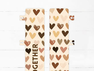 Stronger Together Snap-in Bookmark