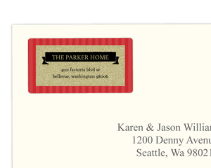 Festive and Fancy Address Label