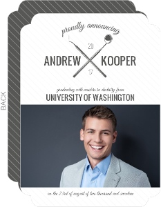 Dentistry School Graduation Invitation