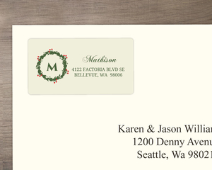 Our First Address Label