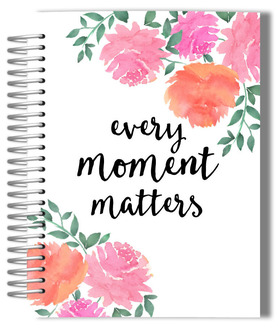 Pink Watercolor Peonies Weekly Planner
