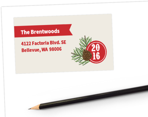 Pine Country Woods Address Label
