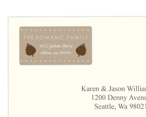 Woodland Wonderland Address Label