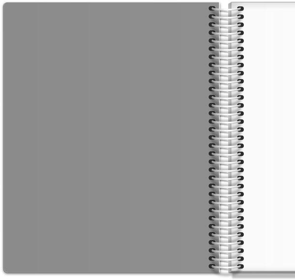 Gray Quatrefoil Pattern Weekly Planner