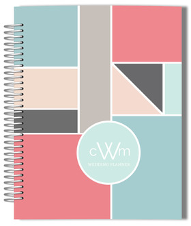 Geometric Posh Wedding Planner