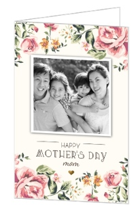 Floral Garden Mother's Day Card