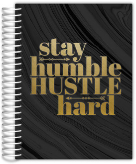 Modern Stay Humble Daily Planner