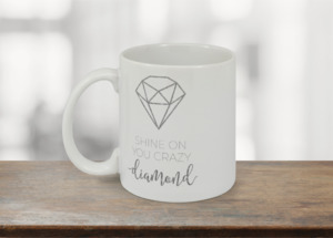 Shine On Diamond Custom Mug