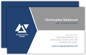 Simple Dual Color Business Cards