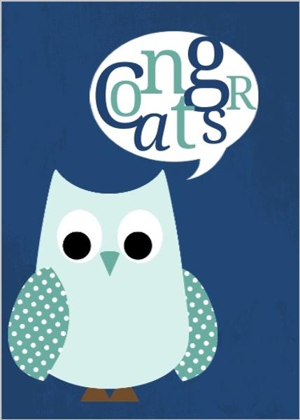 Image result for owl congratulation