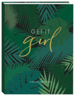 Tropical Get It Girl Monthly Planner 8.5x11
