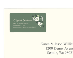 Eucalyptus Garland Address Label