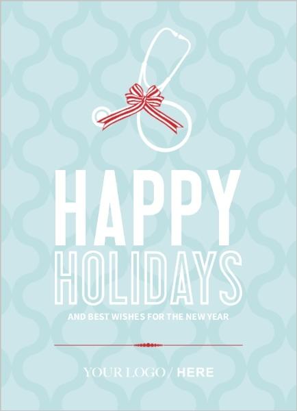 Modern medical holiday business greeting card business holiday cards business holiday greeting cards colourmoves