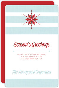 Modern Business Holiday Cards | PurpleTrail