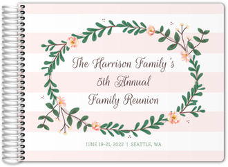 Garden Frame Family Reunion Guest Book