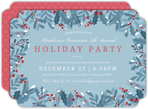 Holy Framed Business Holiday Party Invitation