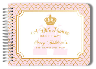 Little Princess Baby Shower Guest Book