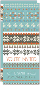 Classic Ugly Sweater Office Holiday Party Invitation