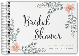 Eucalyptus Bridal Shower Guest Book