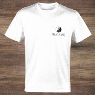 Simple Logo Front and Back Business T-Shirt