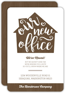 Our New Office Business Moving Announcements