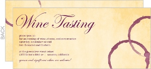 Vintage Wine Tasting Event Invitation