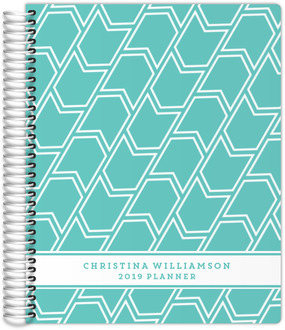 Banner Pattern Weekly Planner