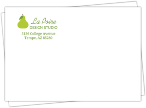 Green Pear Envelope