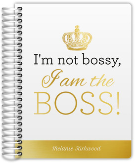 I am the Boss Daily Planner
