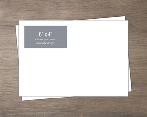 4x6 Create Your Own Envelope