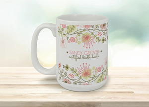 Floral Fun Coffee Coffee Mug