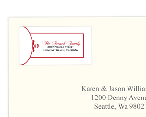 Elegant Filigree Address Label