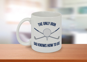 The Only Iron Funny Photo Mug