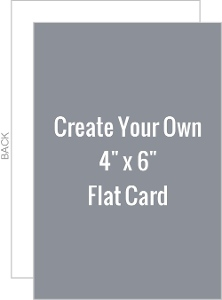 Create Your Own 4x6 Card
