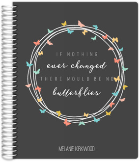 Butterfly Quote Teacher Planner