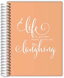 Life and Laughter Cheerful Teacher Planner