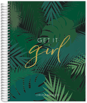 Tropical Get It Girl Meal Planner
