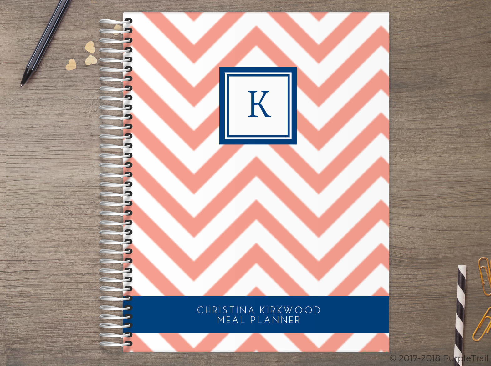 Simply Chevron Meal Planner