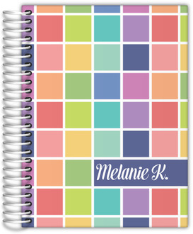 Color Swatch Teacher Planner